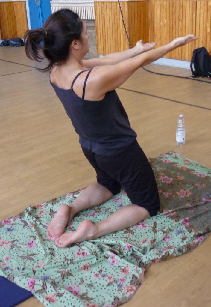 10 déclive arrière quadriceps